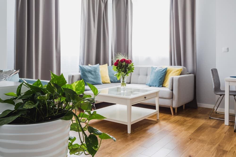 Апартаменти категорії «Superior» (WAW-S24) - Вітальня
