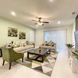 Domek, 6 ložnic - Obývací pokoj