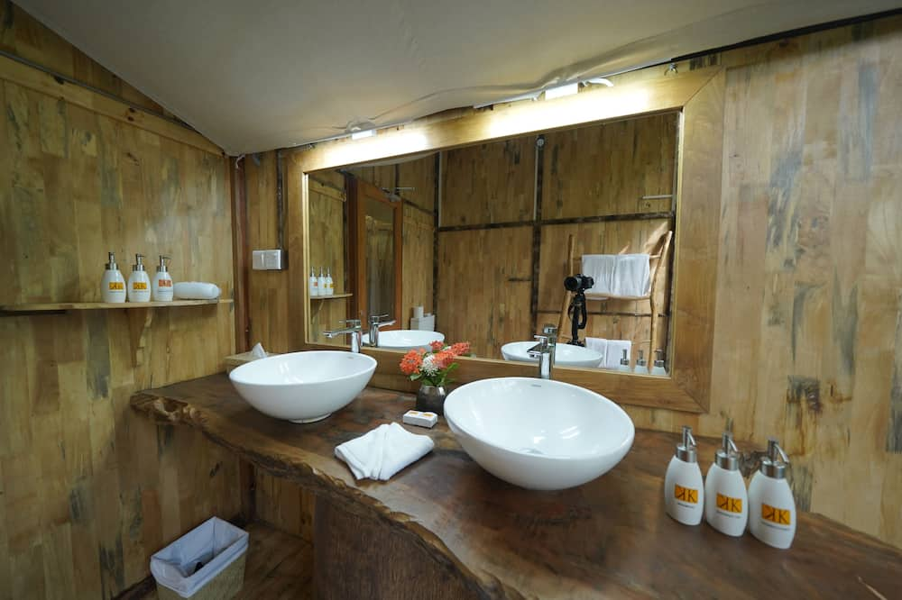 Familienzelt - Badezimmer