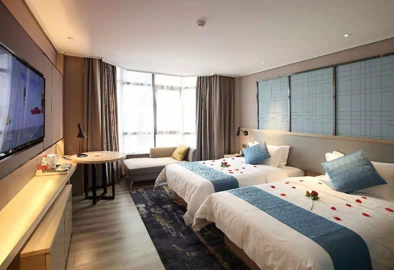 Zhenshang Hotel, Canton, Camera Deluxe con 2 letti singoli, Camera