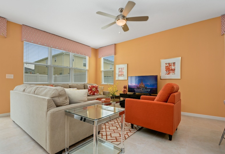 5126 Compass Bay Resort 28335/30701, Kissimmee, Resortwoning, 4 slaapkamers, Woonruimte