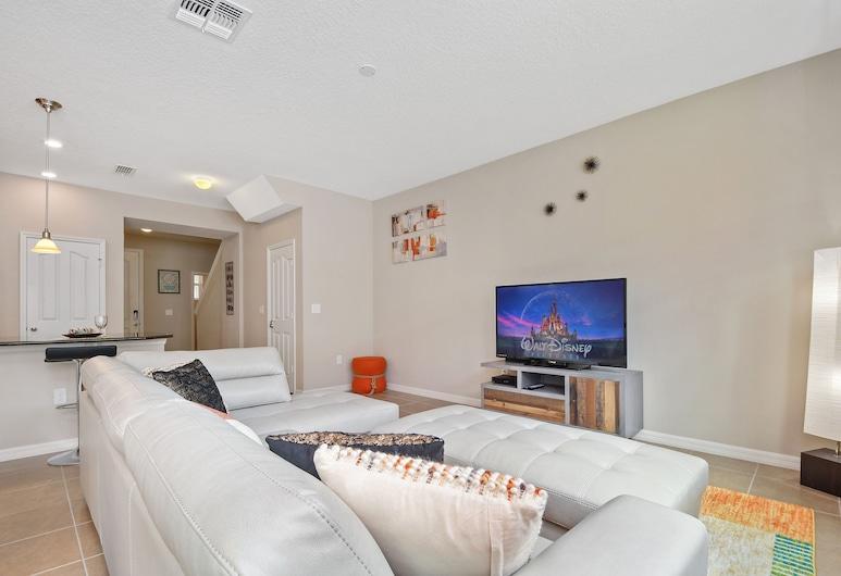 5108A Compass Bay Resort Orlando 47234/49870, Kissimmee, Casa de ciudad, 4 habitaciones, Sala de estar