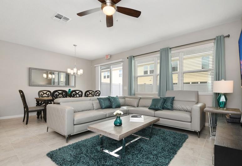 5121Compass Bay Resort Orlando 39553/44279, Kissimmee, kuća u nizu, 4 spavaće sobe, Dnevni boravak