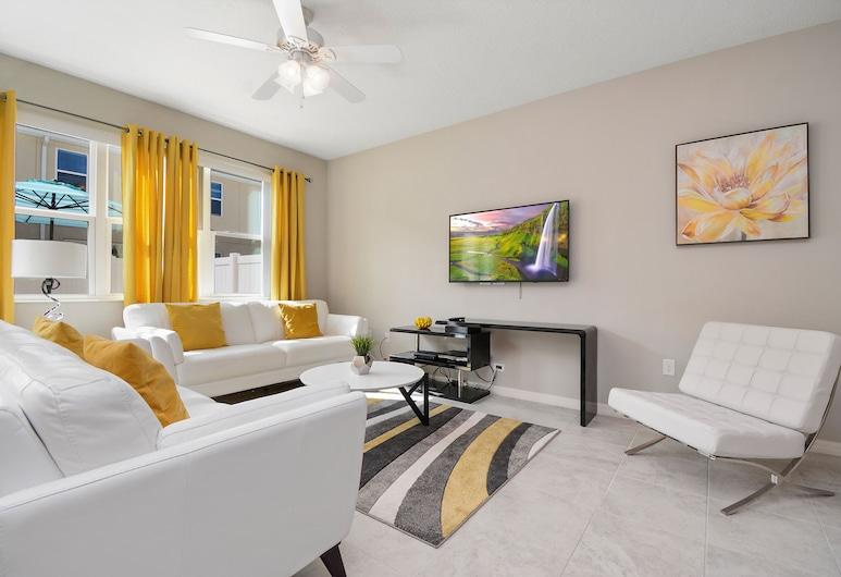 5122K Compass Bay Resort Orlando 43907/44293, Kissimmee, kuća u nizu, 4 spavaće sobe, Dnevna soba