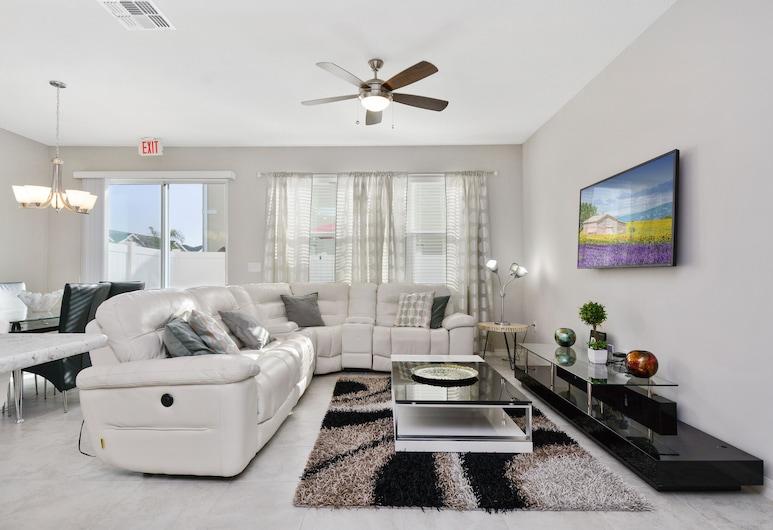 5162 A Compass Bay Resort 43677/44288, Kissimmee, kuća u nizu, 4 spavaće sobe, Dnevni boravak