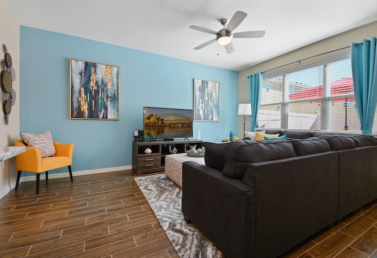 5148 ACompass Bay Resort 44672/46933, Kissimmee, Rindu māja, četras guļamistabas, Dzīvojamā zona