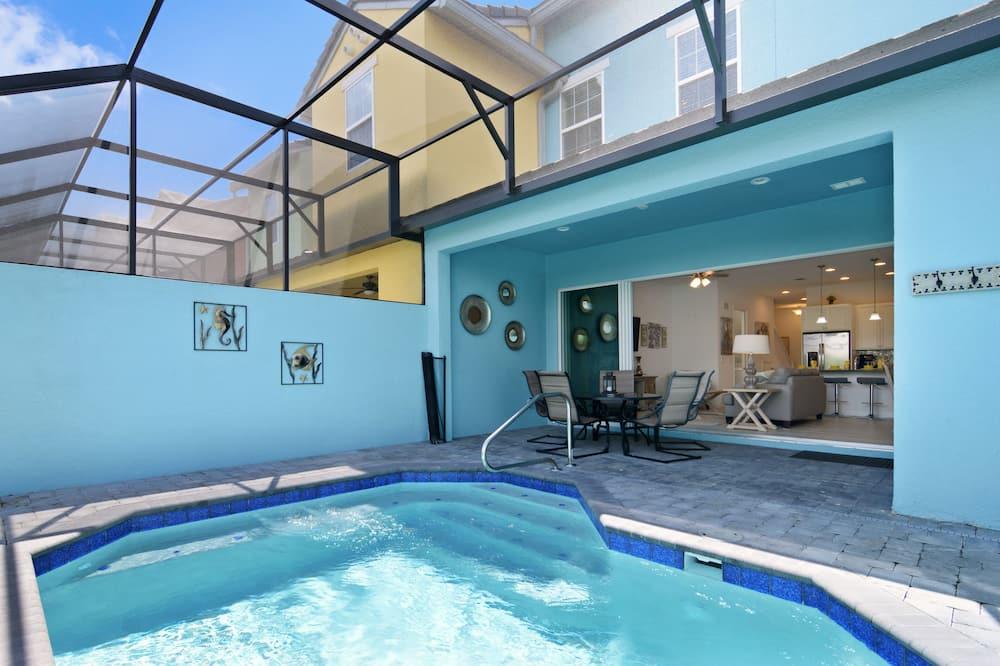 Domek, 3 sypialnie - Prywatny basen