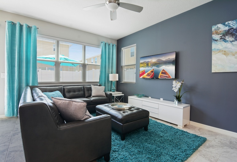 5134A Compass Bay Resort 44646/46932, Kissimmee, Casa de ciudad, 4 habitaciones, Sala de estar