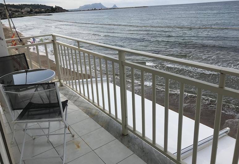 La Battigia, Trabia, Superior Δίκλινο Δωμάτιο (Double ή Twin), Θέα στη Θάλασσα, Μπαλκόνι