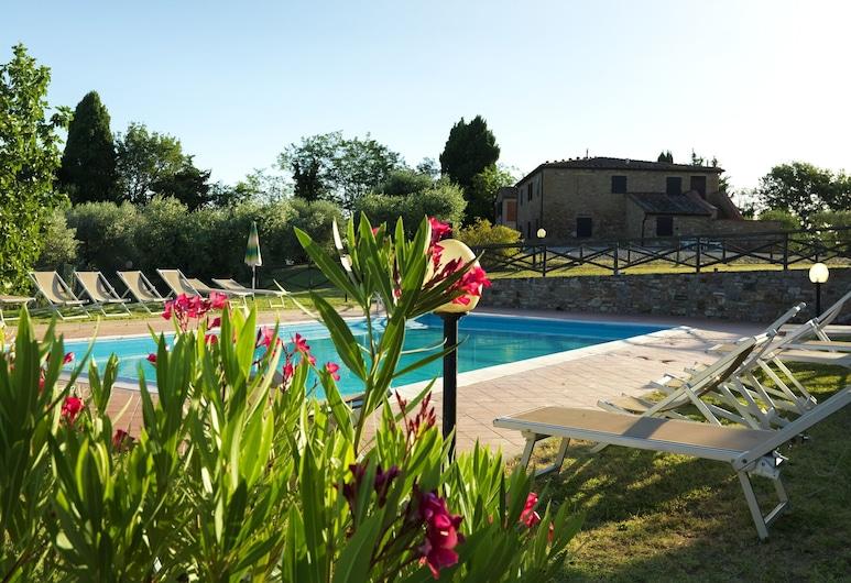 Tasteful Apartment in Gambassi Terme With Pool, Gambassi Terme