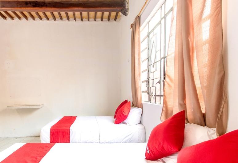 Hotel La Central, Campeche, Family Room, Guest Room
