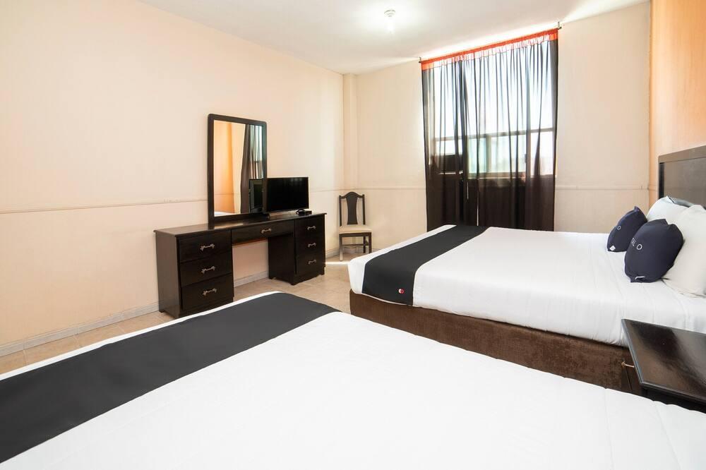 חדר סטנדרט, 2 מיטות קווין - חדר אורחים
