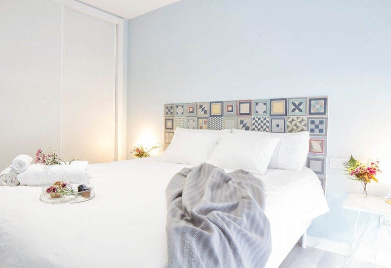 Serene hideaway in the heart of vibrant Santa Cruz, Santa Cruz de Tenerife, Апартаменты, 1 спальня, Номер