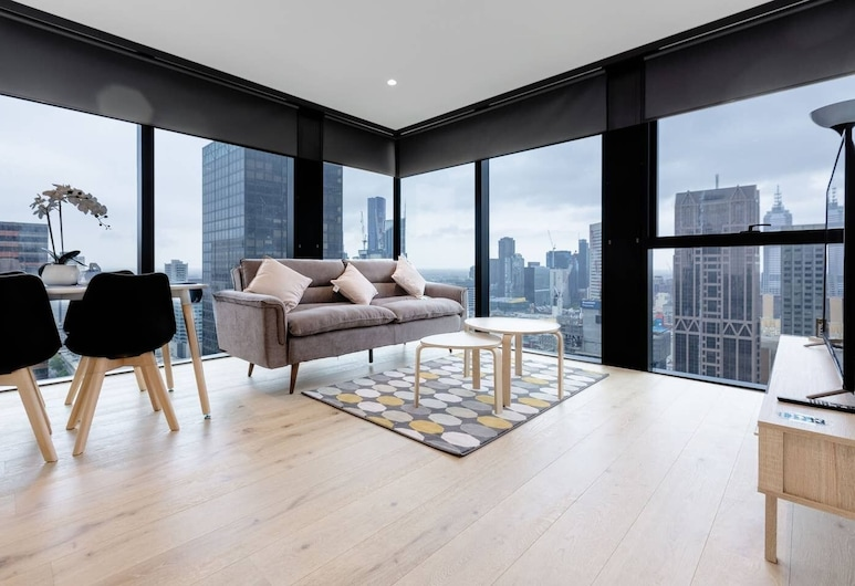 Luxury 2bed2bath apt in the Heart of Mel@collins, מלבורן