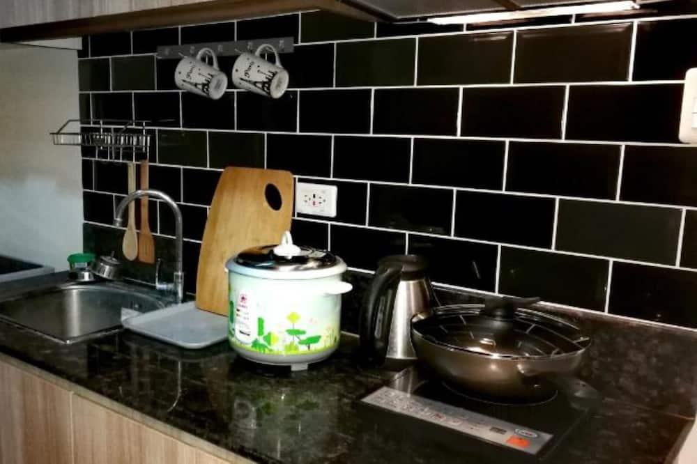 アパートメント 1 ベッドルーム (Spacious - 11B) - 共用キッチン
