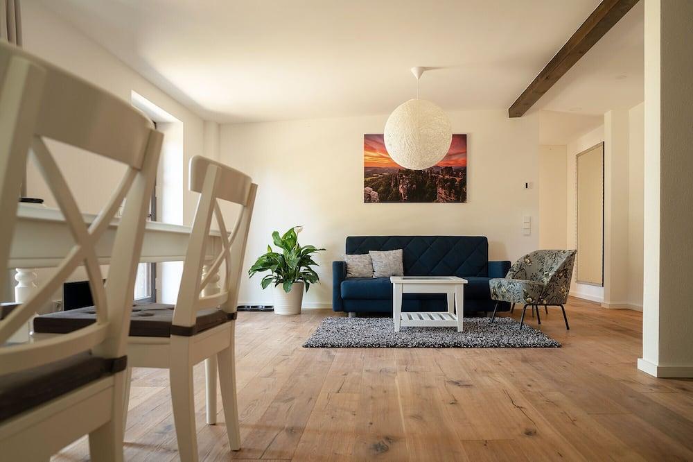 公寓, 露台 (König Bärenstein) - 客廳
