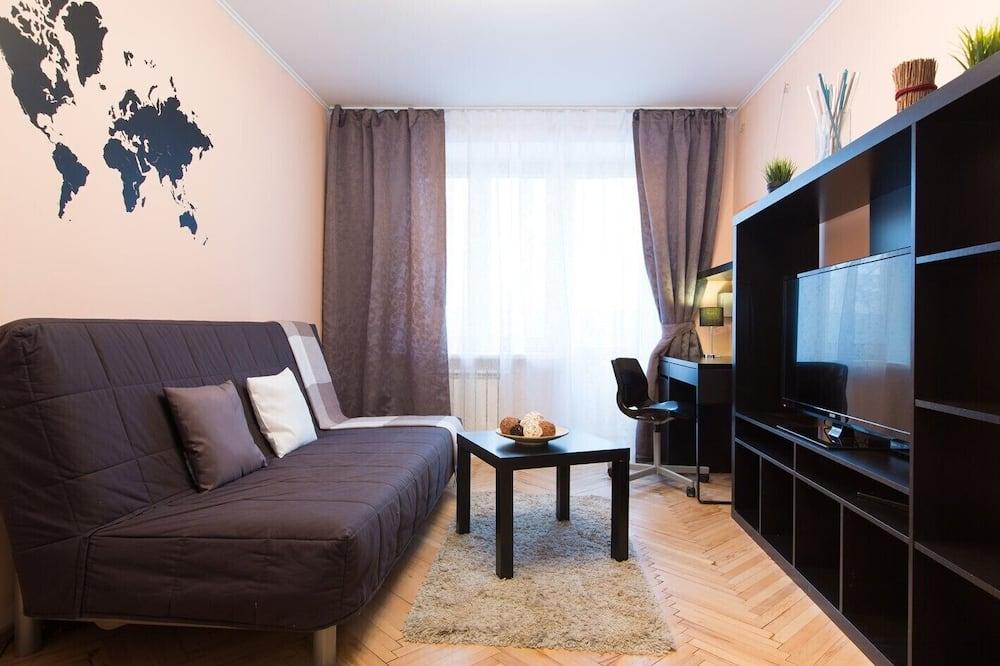 Darījumklases dzīvokļnumurs - Dzīvojamā istaba