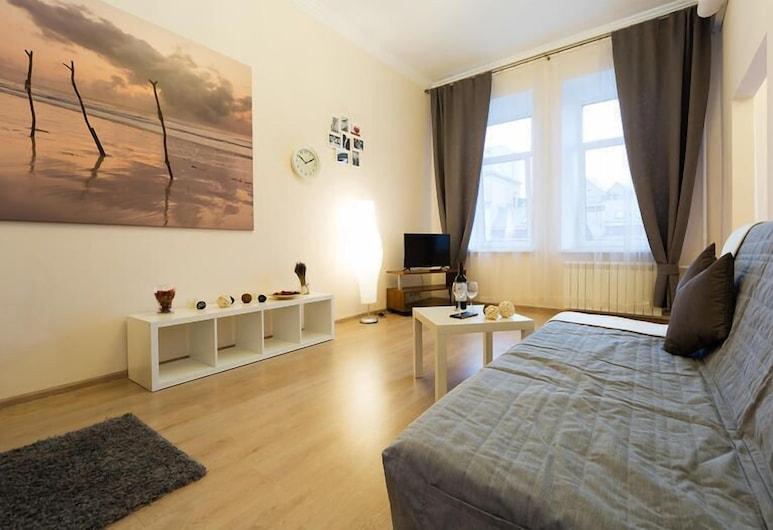 Lux Apartments - Seliverstov Pereulok, Moskva, Stúdíóíbúð, Herbergi