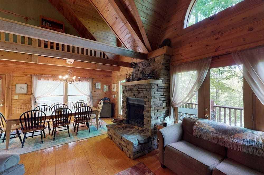 Cabin (Other Side of the Mountain) - Living Room