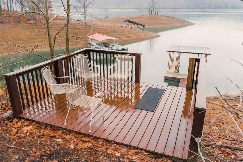 Cabin (Ma Cook Lodge - Sharps Chapel) - Balcony