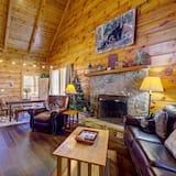 Pokoj, více lůžek, vířivka - Obývací pokoj