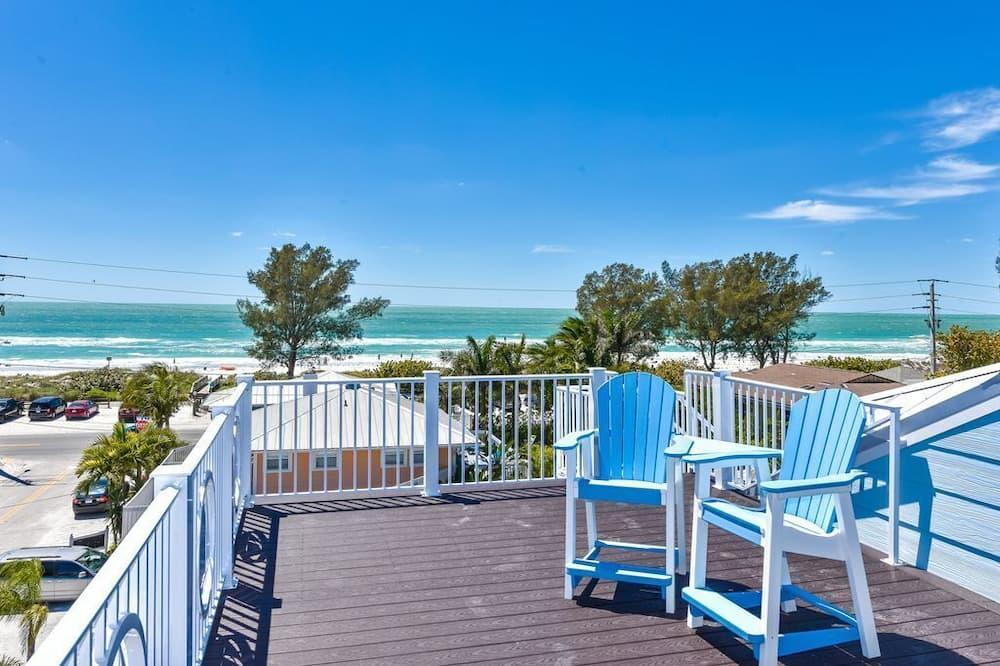 Huis, Meerdere bedden, privézwembad, uitzicht op zee - Uitgelichte afbeelding