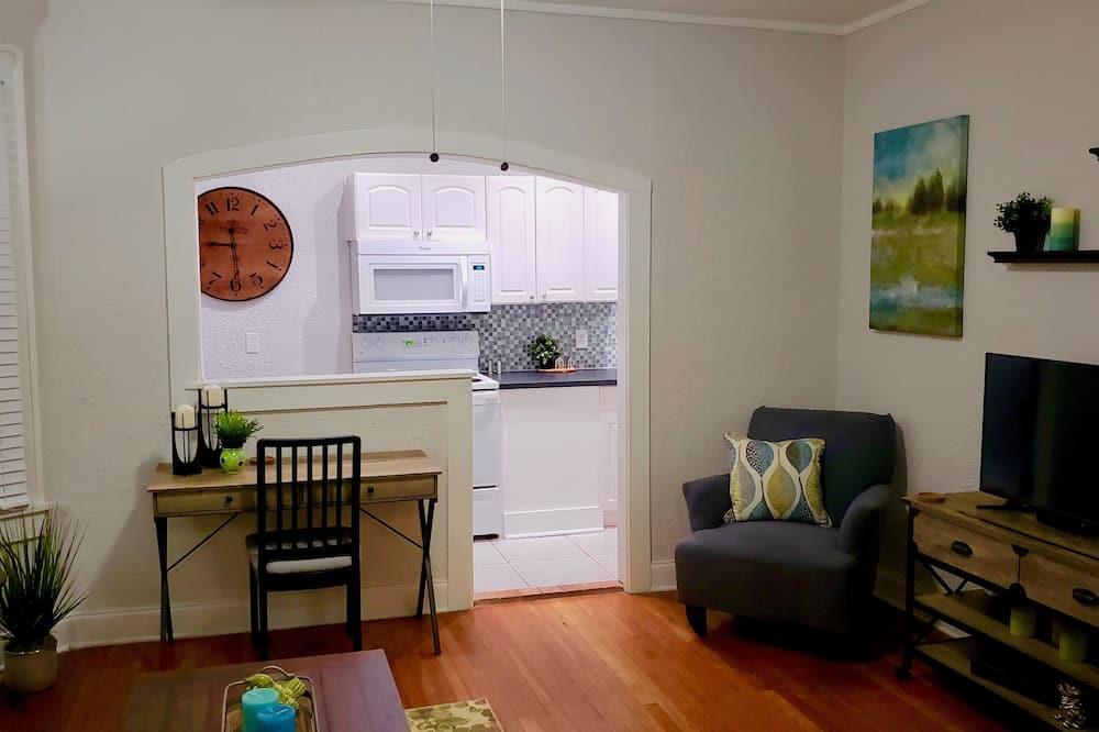Departamento exclusivo - Sala de estar