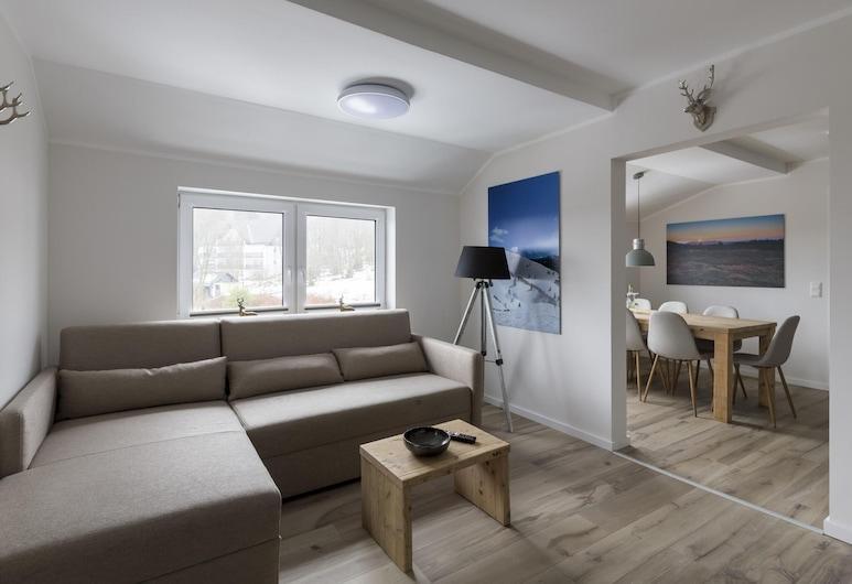 Alluring Holiday Home in Winterberg With Ski-nearby, Winterberg, Departamento, Sala de estar