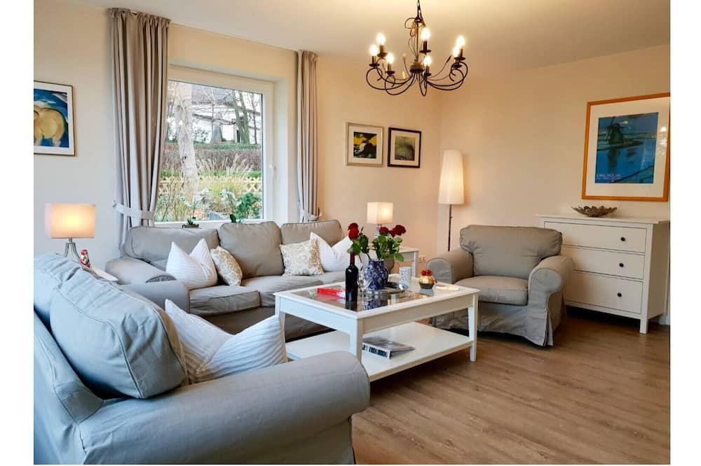 Apartamentai (incl. 100 EUR Cleaning Fee) - Svetainės zona