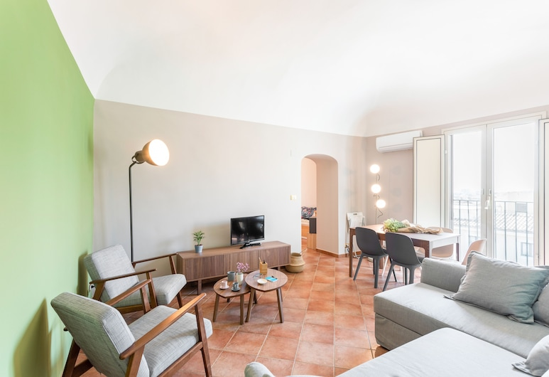 Catania City Center Apartment, Catania, Căn hộ, 1 phòng ngủ, Khu phòng khách