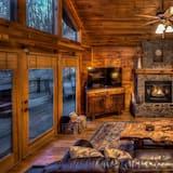 Hytte - 3 soveværelser - Stue