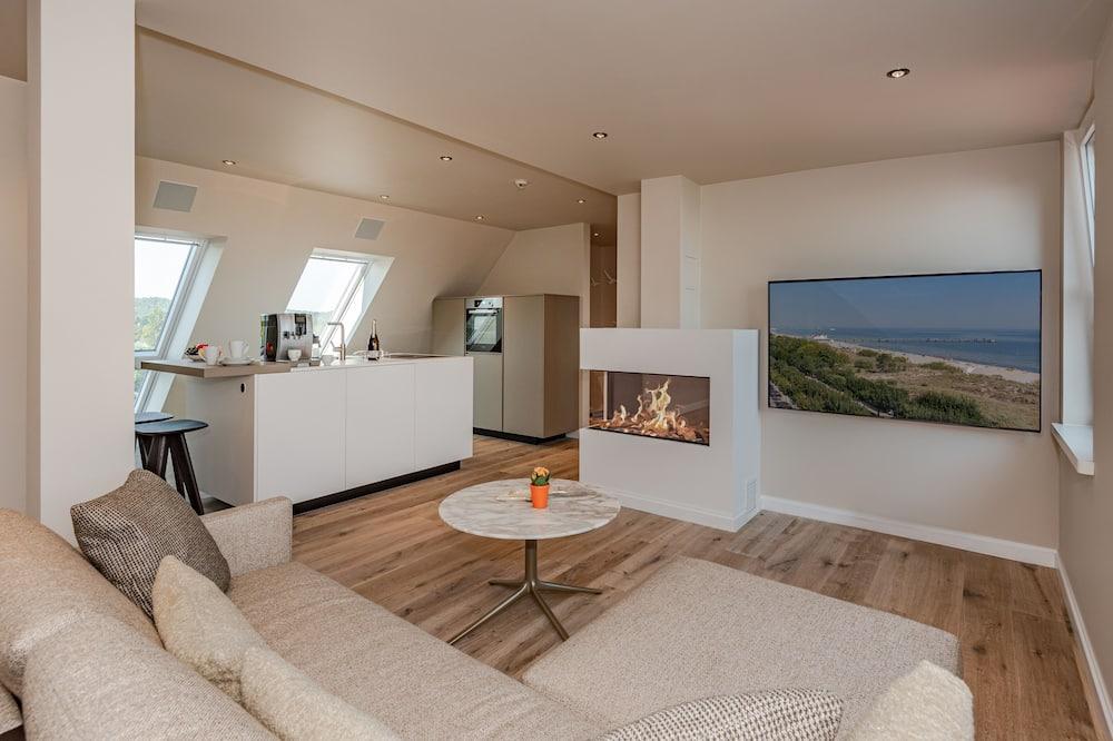 Люкс - Зона гостиной