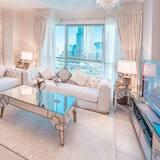 شقة حصرية - غرفة معيشة
