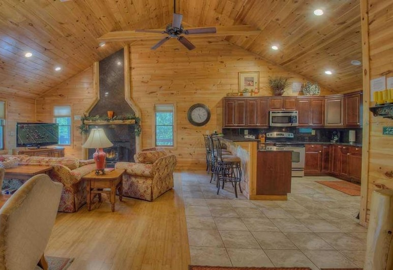 Pure Pleasure on the Lake by Escape to Blue Ridge, Blairsville, Hytte, 4 soverom, Stue