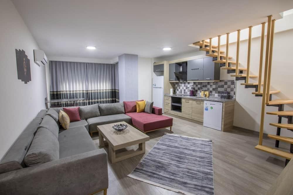 Dublex Apartment - Svetainės zona
