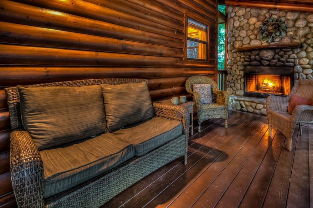 Cabane, 3 chambres - Salle de séjour
