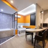 Deluxe tweepersoonskamer (No Parking) - Woonruimte