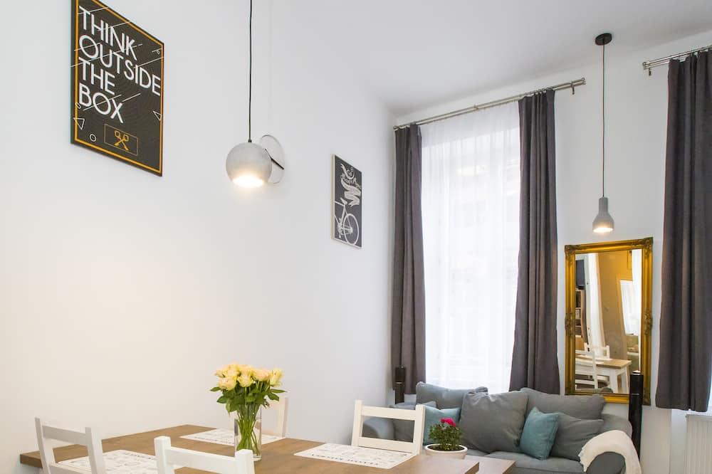 Apartament (Split Level) - Powierzchnia mieszkalna