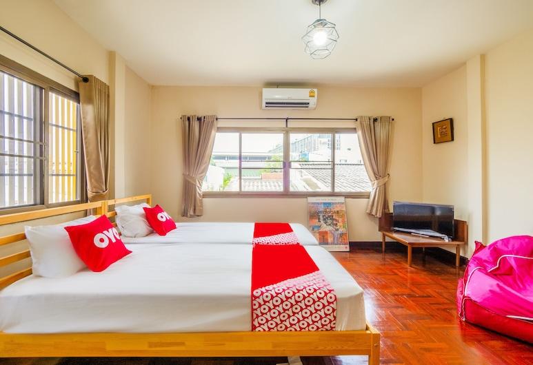 OYO 941 Chom's House at Sapanmai, Bankokas, Liukso klasės dvivietis kambarys (2 viengulės lovos), Svečių kambarys