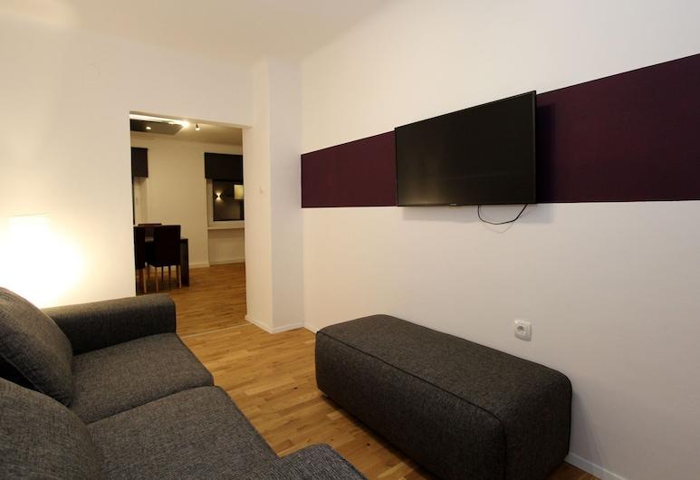 Modern Apartment in Eisenerz With Garden, Eisenerz, Apartament, Salon