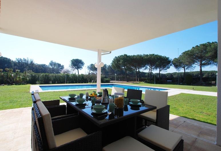 Can Vendrell, Sant Iscle de Vallalta, Villa Luxe, plusieurs chambres, piscine privée, Terrasse/Patio