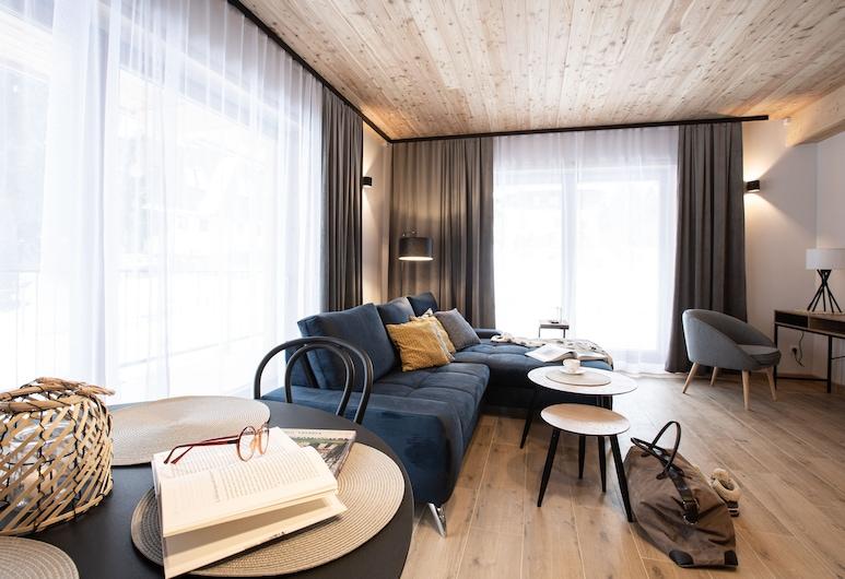 Willa Kozińcówka, Zakopane, Exclusive-Apartment (Granit), Wohnbereich