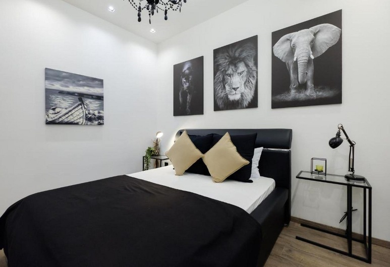 Central Business Apartment Exclusive, Belgrad, Deluxe-Apartment, Zimmer
