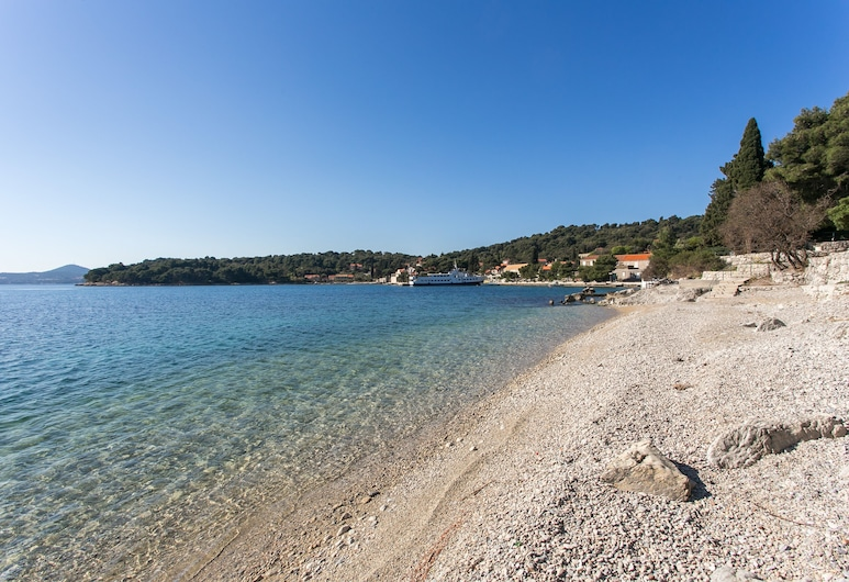 Wonderfull View to the Entire bay of Zaton, Dubrovník, Pláž