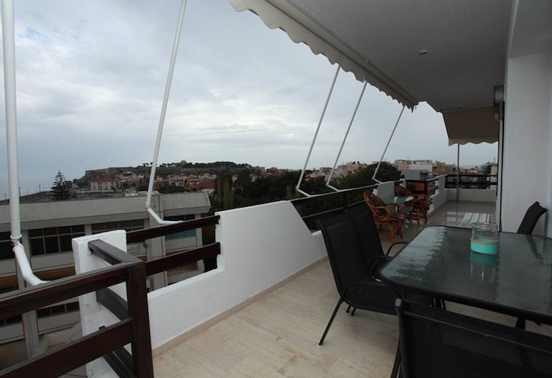 Nilly's Central Luxury Apartments, Rethymno, Apartment, 2 Bedrooms, Balkoni