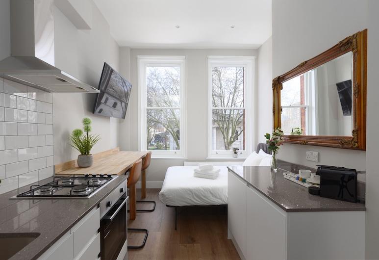 Flat Shoreditch, לונדון, דירה, חדר שינה אחד (1BA), מטבח פרטי