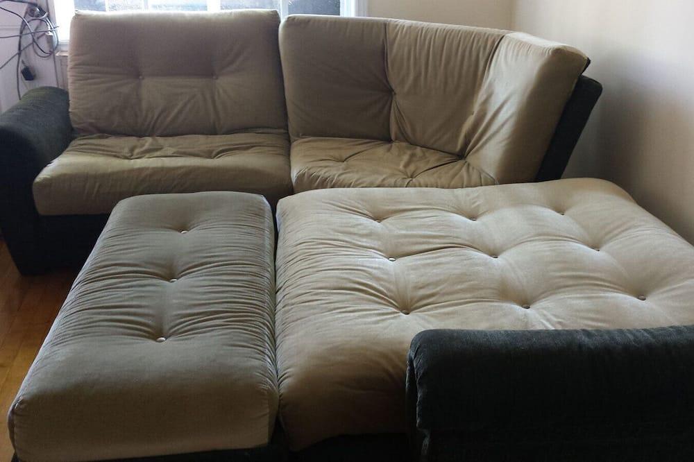 Comfort-lejlighed - 3 soveværelser - ikke-ryger - udsigt til gårdsplads - Værelse