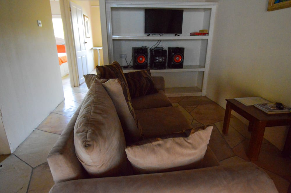 Deluxe Apartment, 2 Bedrooms, Bay View, Mountainside - Living Area