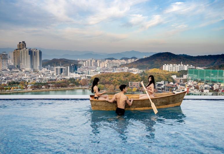 HOTEL SUSUNG, 大邱, 無邊際泳池