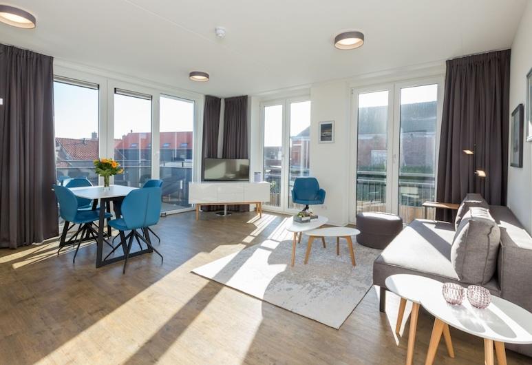 Luxurious Apartment in Zoutelande Near Beach, Zoutelande, Departamento, Sala de estar